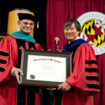 Edward St. John Awarded Honorary Doctor of Public Service from the University of Maryland at College Park