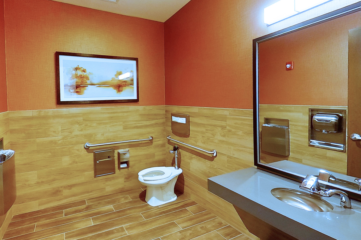 Maple Lawn Multi-Story Office   11810 West Market Place   Third Floor   Restroom