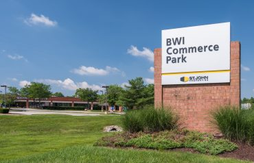 BWI Commerce Park | Entrance Signage