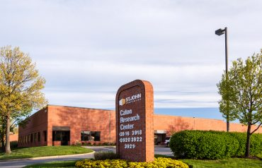 Caton Research Center | Entrance Signage
