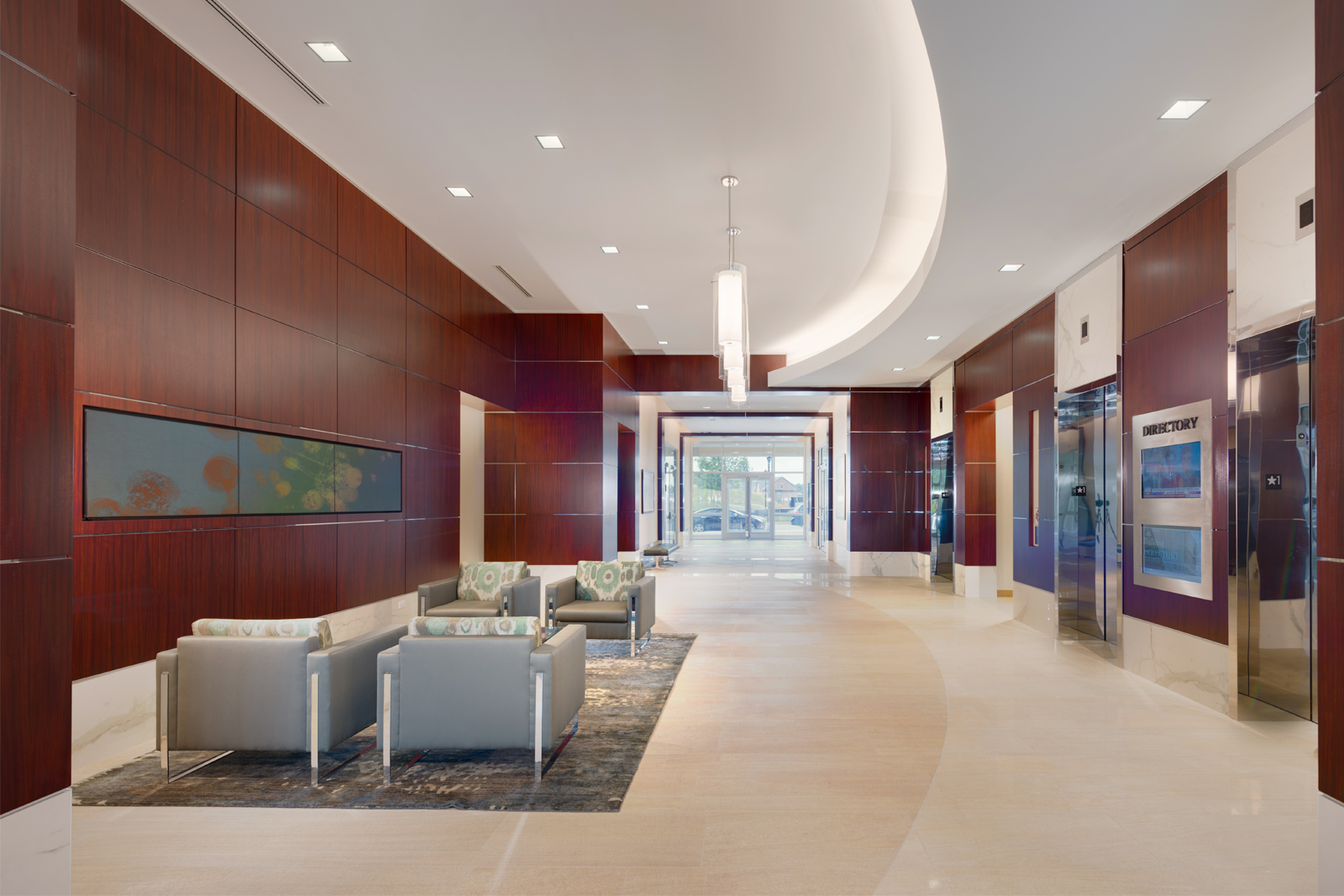office lobby. Maple Lawn Business District | Class \u0027A\u0027 Office 8115 Boulevard Lobby