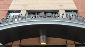 This is the signage at the South Moon Under Harbor East location.