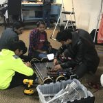 Inside the underground Howard County space where kids build robots and discover tech