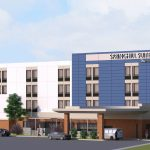 SpringHill Suites underway at new Greenleigh development in White Marsh