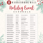 Harrisburg Mall Announces Holiday Events and Seasonal Retailers