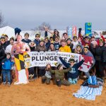 60-Member St. John Properties Polar Bear Plunge Team Raises more Than $11,000