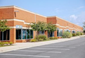 The Ashburn Technology Park, a flex-industrial property where several retailers have opened
