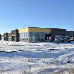 $21 million Mt. Pleasant Commerce Center on Highway 20 partially complete