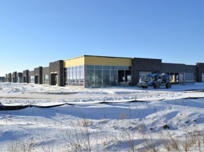 Mt. Pleasant Commerce Center, an approximately $21 million, 200,000-square-foot office and light industrial development along Highway 20 is now partially completed.
