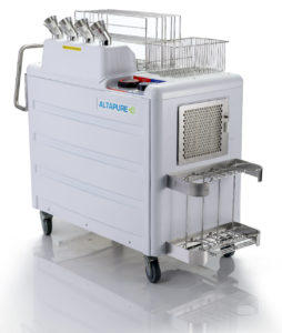 Altapure's AP-4 High Level Disinfection System will consistently kill 100% of pathogens