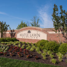 Maple Lawn is a 600 acre mixed-use community in Howard County.